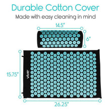 Load image into Gallery viewer, Massage Mat Standard Sized Teal