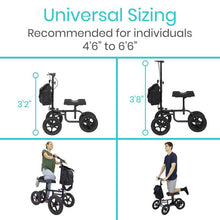 Load image into Gallery viewer, Knee Walker / Knee Scooter Large Wheel