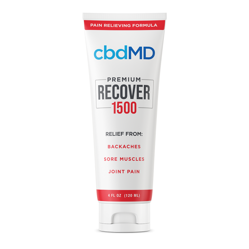 CBD Recover Squeeze - 1500 mg - 4 oz
