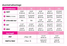 Load image into Gallery viewer, Duomed Advantage 20-30 mmHg maternity panty closed toe standard