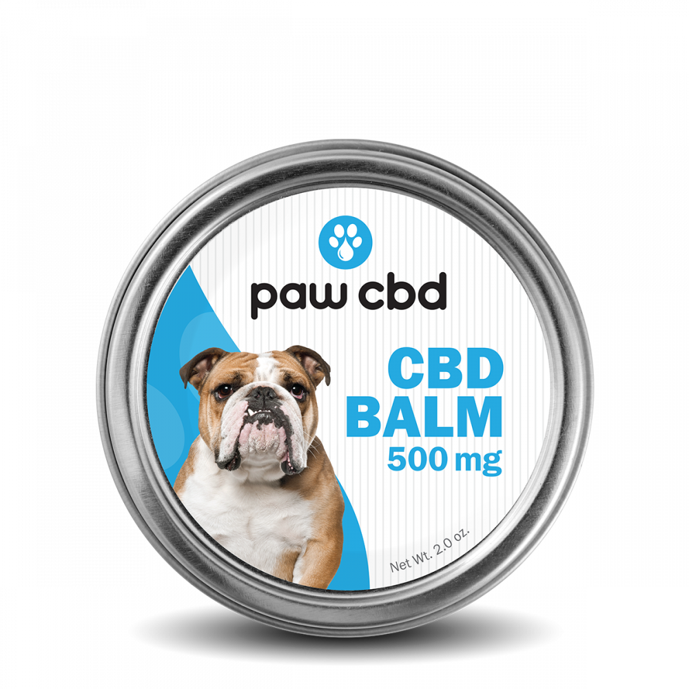 Pet CBD Balm for Dogs - 500 mg - 2 oz