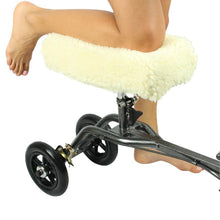 Load image into Gallery viewer, Knee Walker Cover Sheepskin (all colors)