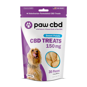 Pet CBD Oil Treats for Dogs - Sweet Potato - 150 mg - 30 Count