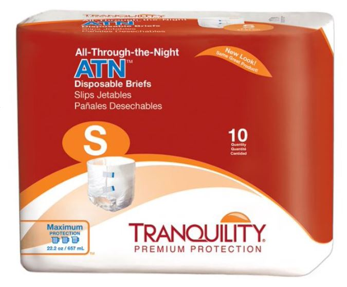 Unisex Adult Incontinence Brief Tranquility® With Tabs