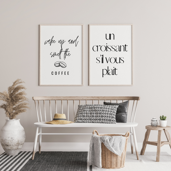 lets get naked poster print wall art interior inspo