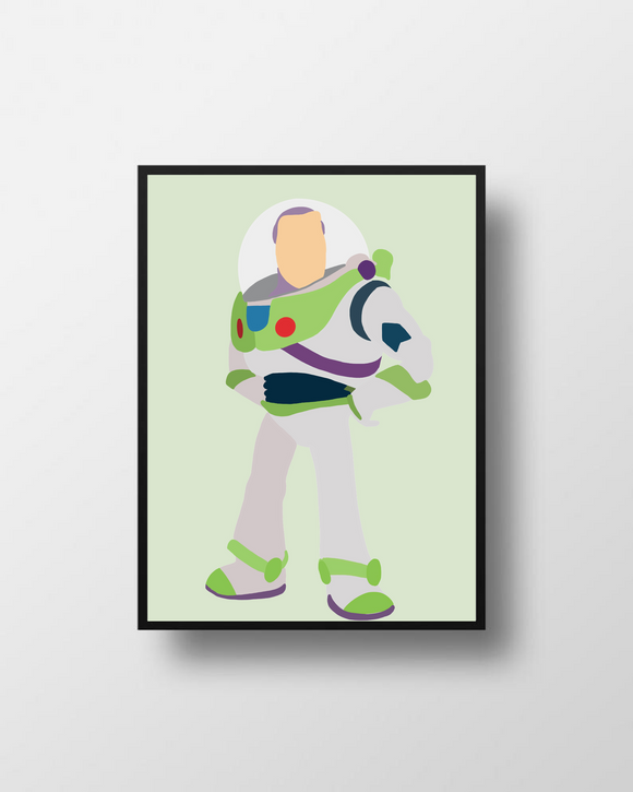 Buzz Toy Story Poster Print