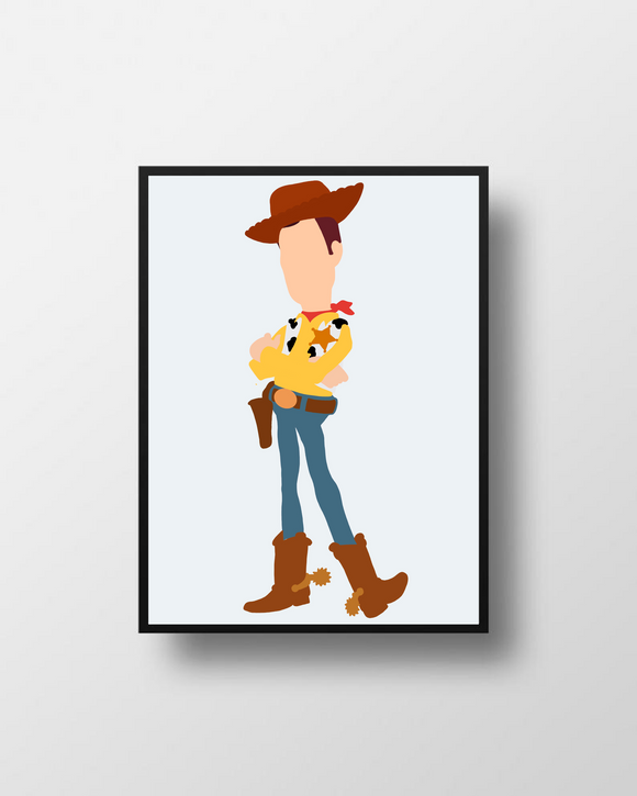 Woody Toy Story Poster Print