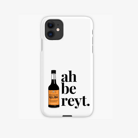 sheffield saying dialect be reyt hendos phone case iphone samsung