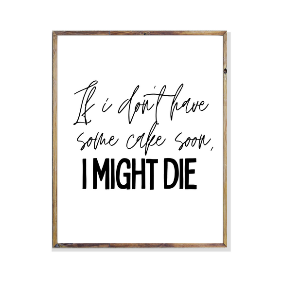 funny the office quote poster print wall art