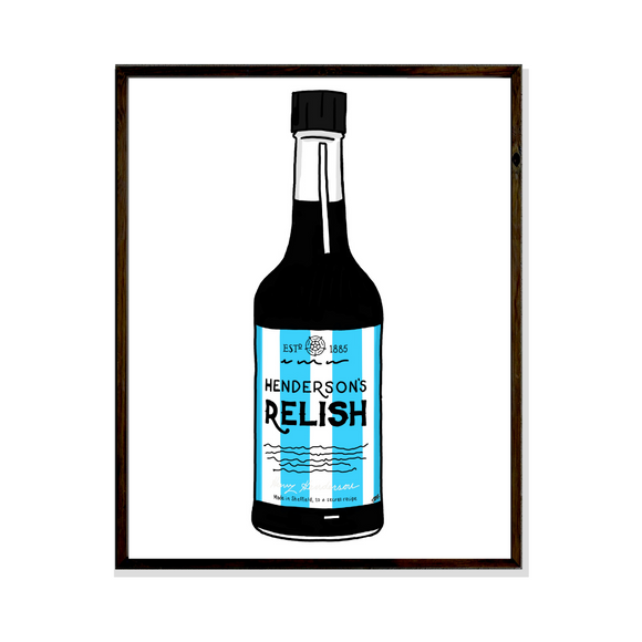 sheffield wednesday football hendersons relish poster art print
