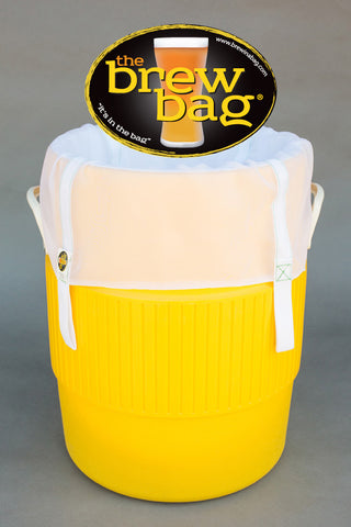 The Brew Bag® Mash Tun Filter for Coolers (Round) - 400 Micron for Recirculating