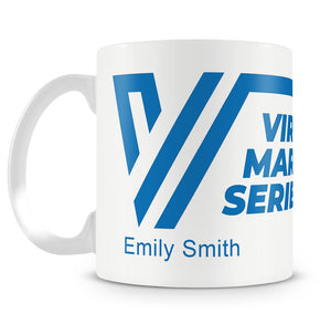 Virtual Marathon Series Logo 10 oz Mug - Personalisation Available