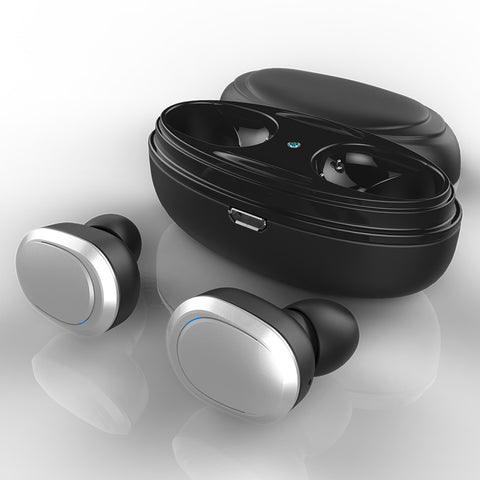 T12 TWS Bluetooth Mini Double Wireless Earbuds Cordless Headphones Stereo Music Earpieces For iPhone 8 8 Plus