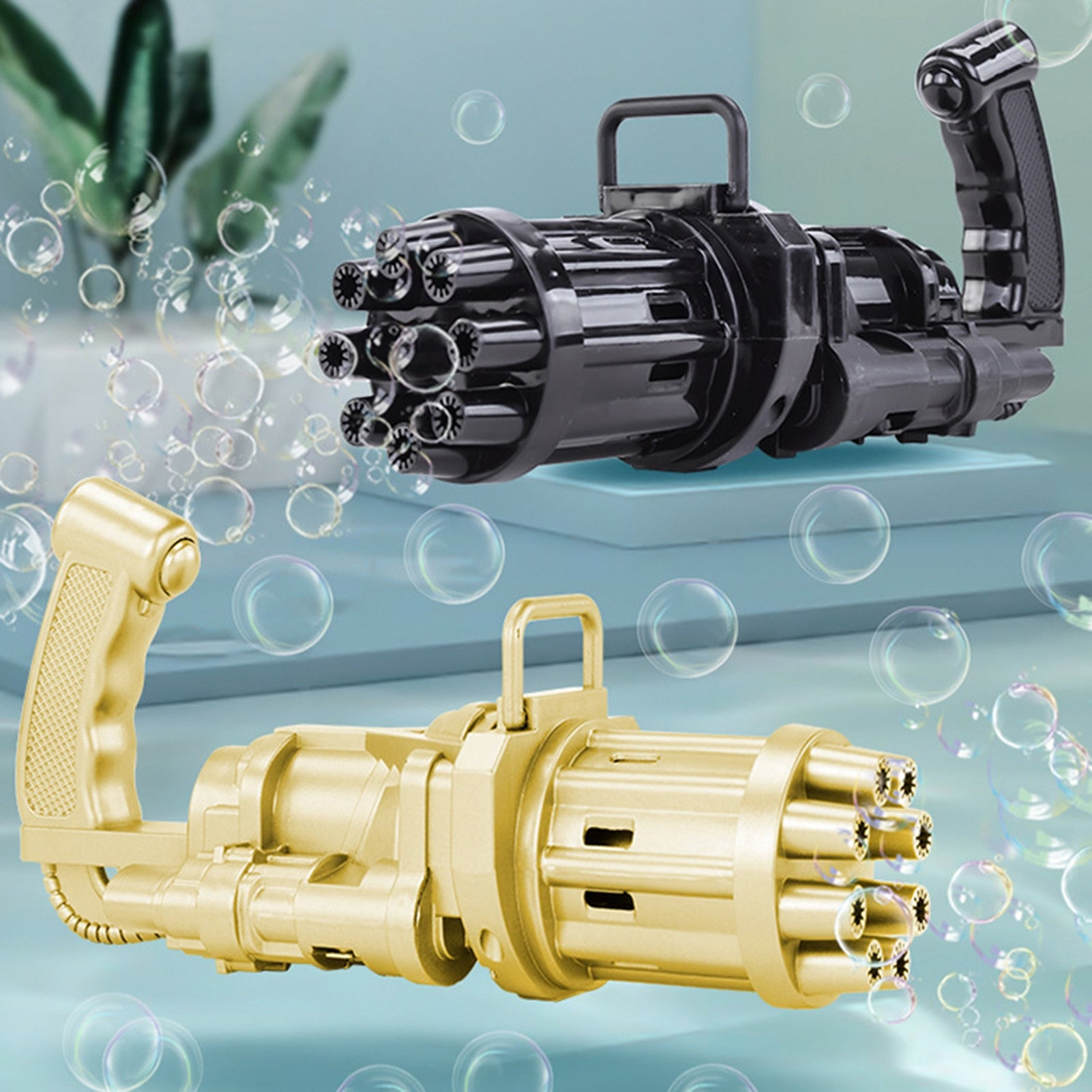 Joysz™ Gatling Bubble Gun