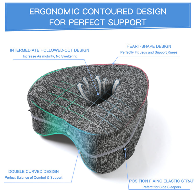 Orthopedic Knee Support Memory Foam Pillow