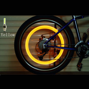 Ouvrir l'image dans le diaporama, Bicycle LED Light Tire Valve Cap Bicycle Flash Light