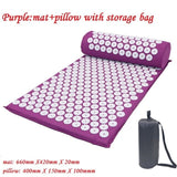 Acupuncture Yoga Mat and Pillow Set - CRAZY DISCOUNT DEALS