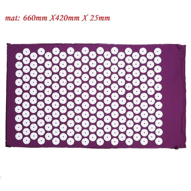 Acupuncture Yoga Mat and Pillow Set