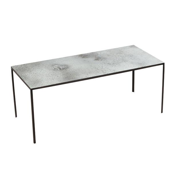 Large Clear Patchwork Coffee Table