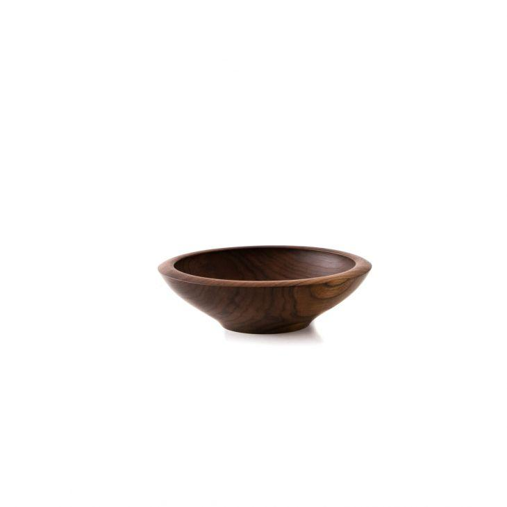 Champlain Bowl in Black Walnut 13""