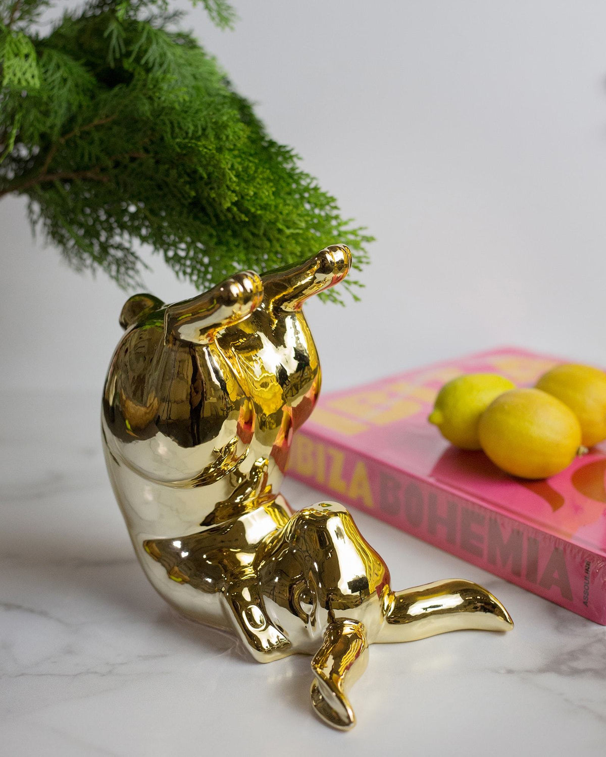Bunny Gold Moneybox - Bum (detailed 2)