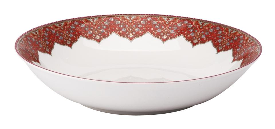Dhara Red Soup/Cereal Bowl