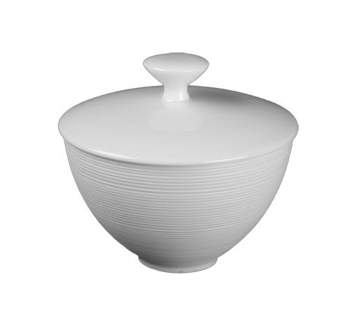 Hemisphere White Sugar Bowl