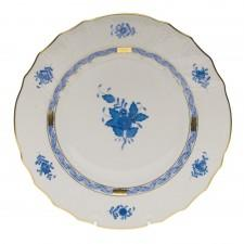 Herend Chinese Bouquet Dinner Plate Blue