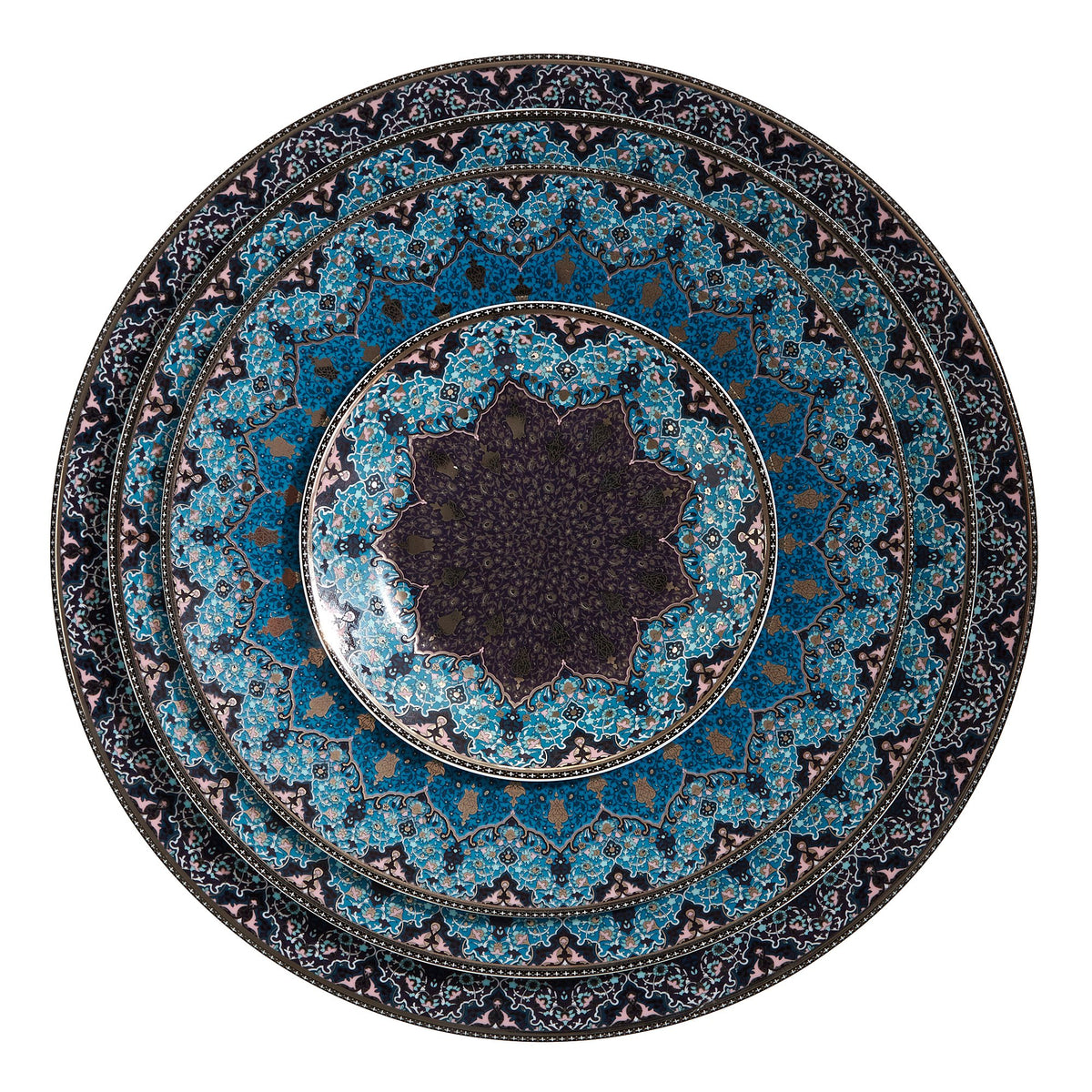 Dhara Peacock Bread and Butter Plate