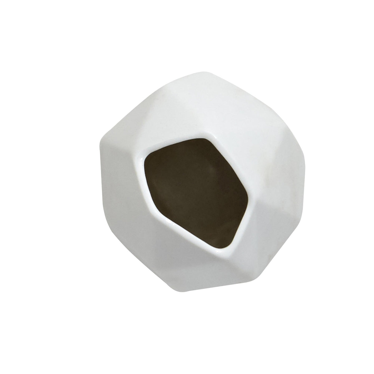 Surface White Matte Porcelain Mini Vase