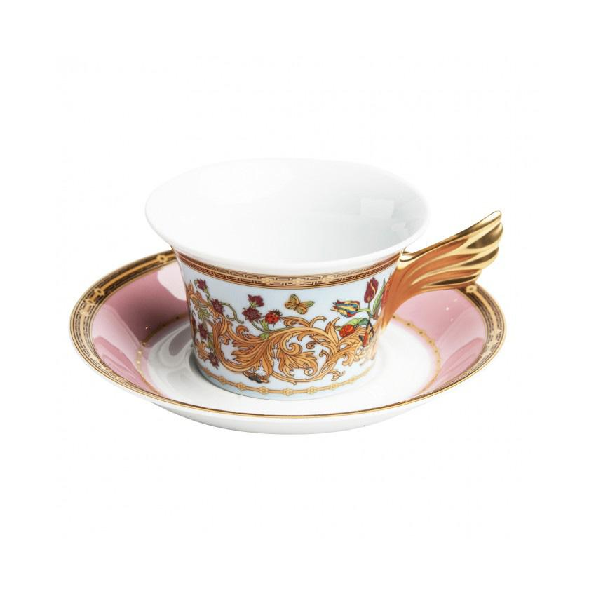 Butterfly Garden Porcelain Cup and Saucer