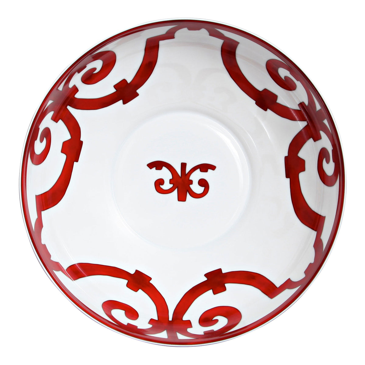Balcon Du Guadalquivir Red Salad Bowl