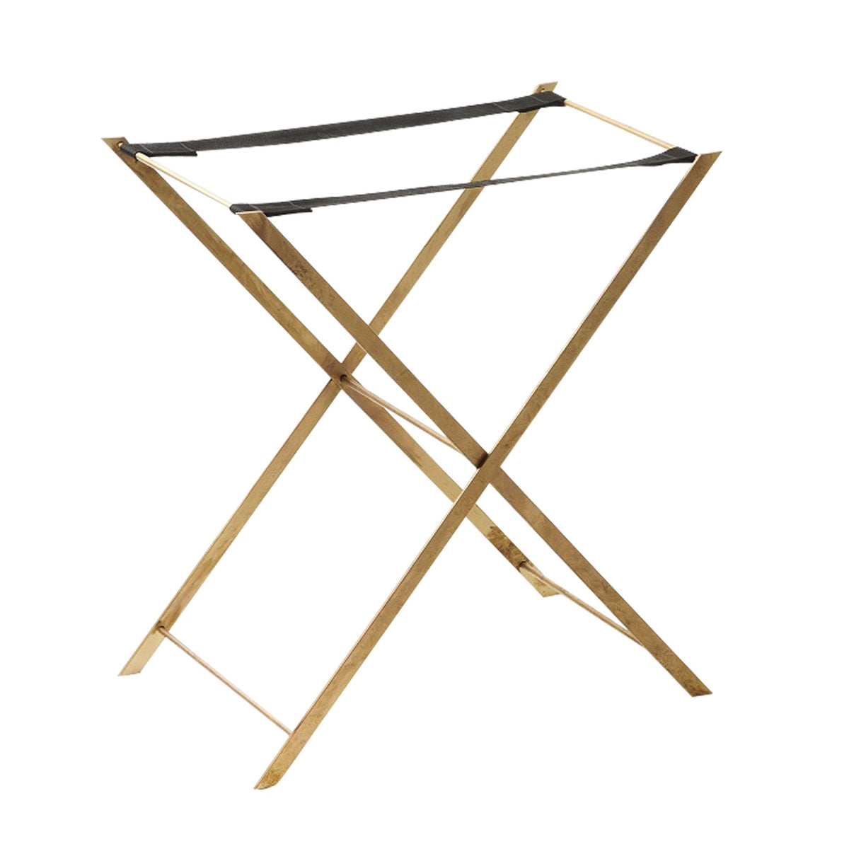 Large Bronze Tray Stand