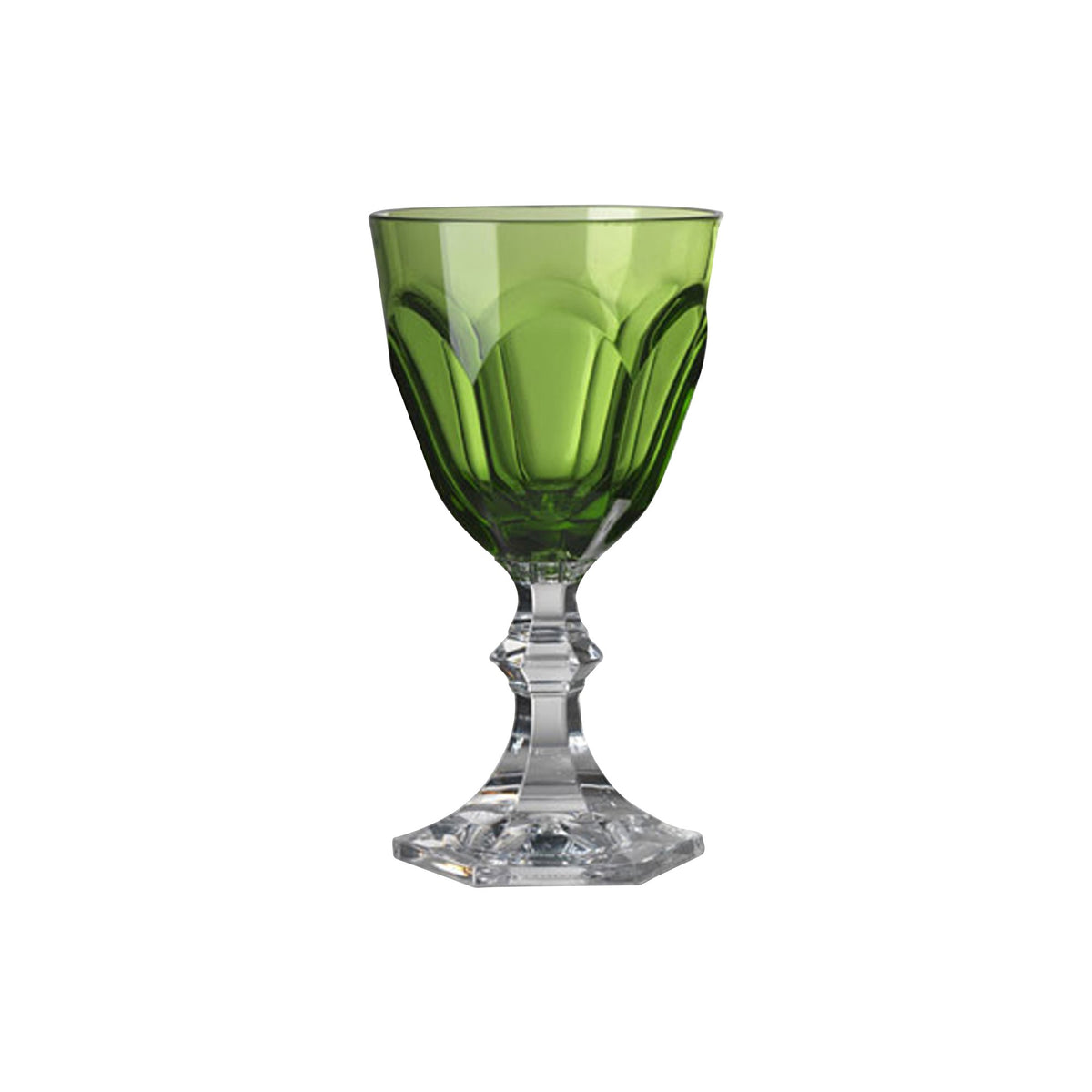 Acrylic Dolce Vita Green Water Goblet