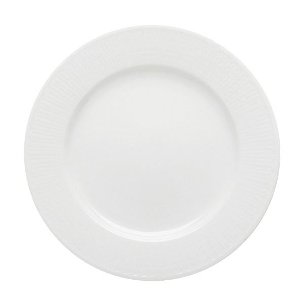 Swedish Grace Salad Plate Snow