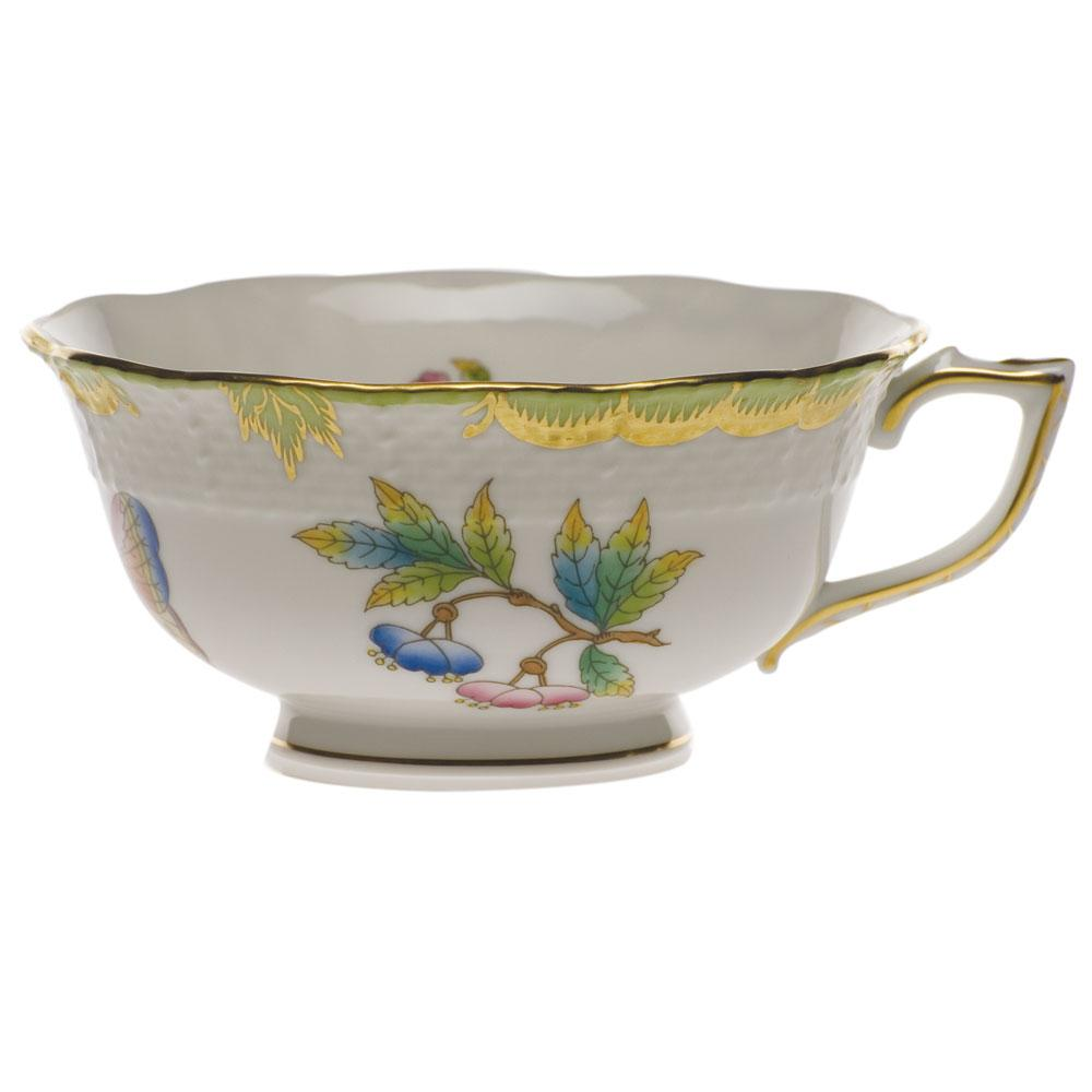 Queen Victoria Green Tea Cup & Saucer