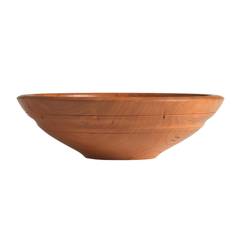 WILLOUGHBY BOWL IN CHERRY WOOD