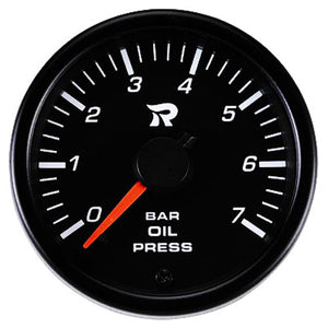 RICO 45mm Oil pressure gauge BAR
