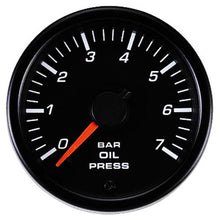 Load image into Gallery viewer, 45mm Oil pressure gauge BAR (no LOGO)