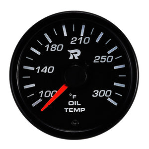 RICO 45mm Oil temperature gauge Fahrenheit
