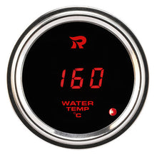 Load image into Gallery viewer, RICO Digital Waterproof Oil temperature gauge Celsius RED LED