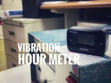 Load and play video in Gallery viewer, B02-H019V Inductive Vibration Hour Meter Waterproof