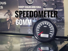 Load and play video in Gallery viewer, B02-60-03 60mm Motorcycle Electrical Speedometer