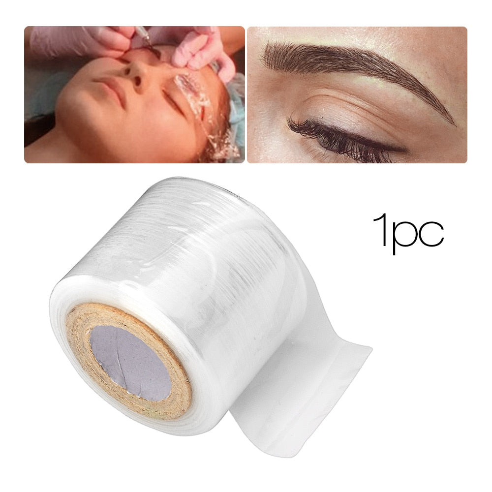 1PC Tattoo Accessory Makeup Supplies Eyebrow Film Liner Makeup Wrap Plastic Preservative Maquillage permanent Accessoies