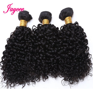 10a Mongolian Kinky Curly Hair Extension 1/3 Bundles Human Hair Weave Tissage Cheveux Humain Hair Extension