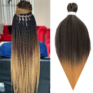 XUANGUANG Fashion 26 inch 100g African crochet hair giant braid hair extension crochet hair easy to weave