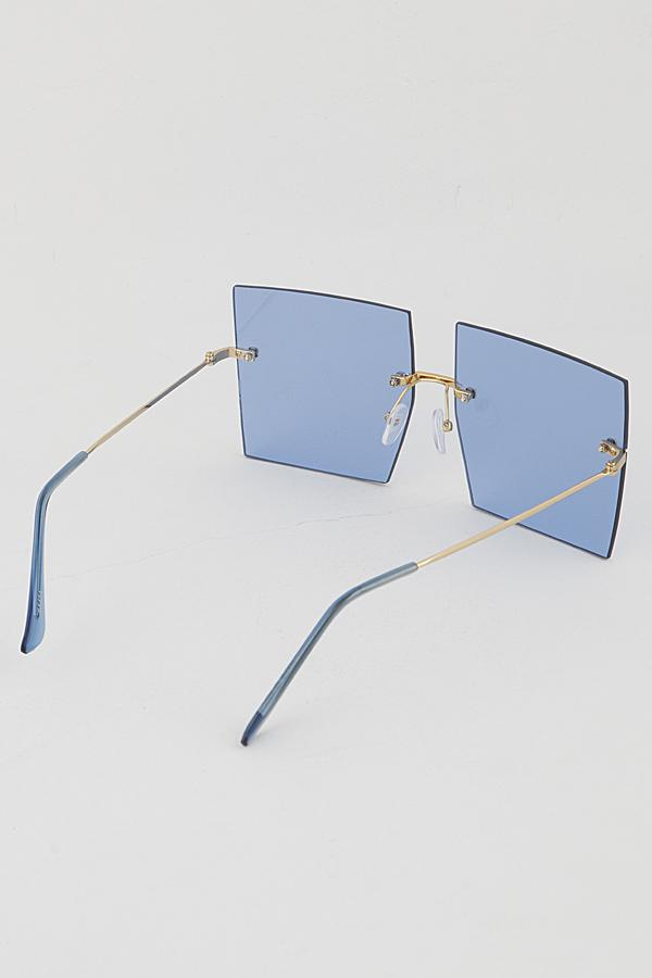 Blue Color Pop Sunglasses