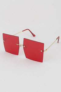 Red Color Pop Sunglasses
