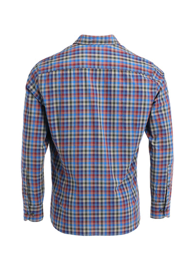 SOFT MULTI SQUARE CHK SHIRT
