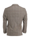 MAYF BROWN PLAID JACKET